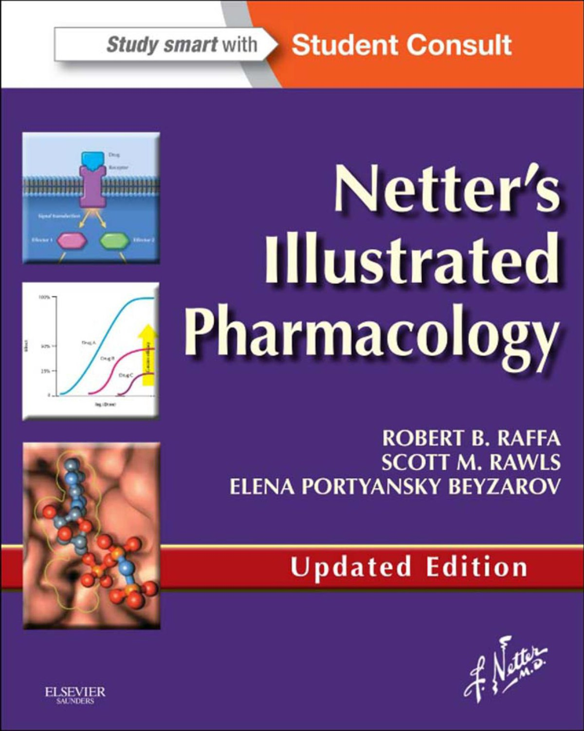 Illustrated Book Cover Zone : Netter s illustrated pharmacology updated edition ebook