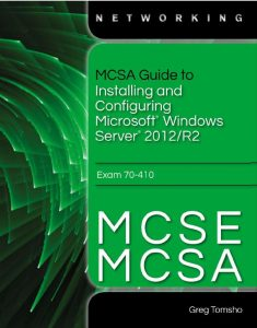 MCSA Guide to Installing